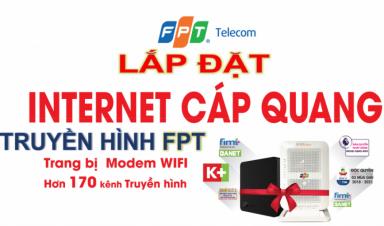 Lắp Internet FPT Sóc Trăng- Cáp Quang Siêu Nhanh - Giá Siêu Rẻ Tháng 03/2021